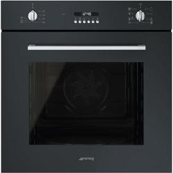 Smeg SF478N Cucina 60cm Multifunction Oven With New Style Controls - Black