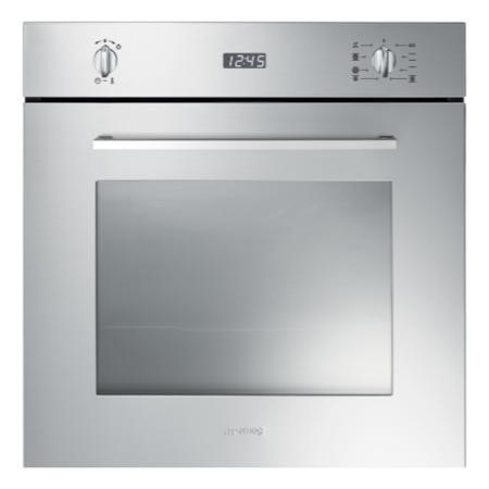 smeg sf485x cucina 60cm multifunction oven with new style. Black Bedroom Furniture Sets. Home Design Ideas