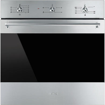 Smeg Sf6341gvx Classic Gas Fan Oven With Electric Grill Stainless