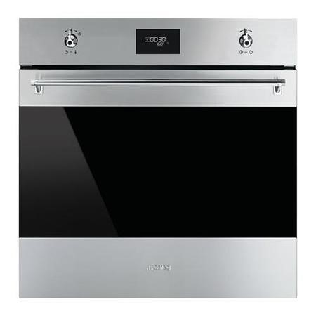 Smeg SF6372X Classic Multifunction Maxi Electric Built-in Single Oven Stainless Steel