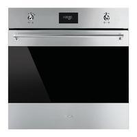 GRADE A1 - Smeg SF6372X Classic Multifunction Maxi Electric Built-in Single Oven Stainless Steel