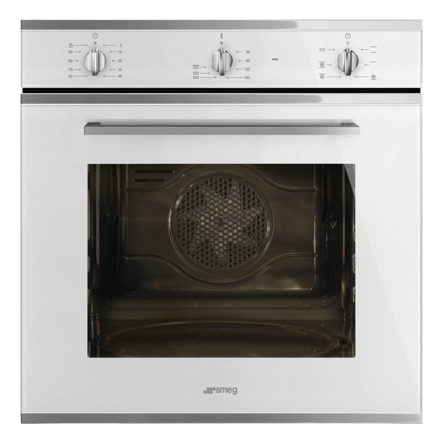 Smeg SF64M3VB Cucina Multifuction Single Oven - White