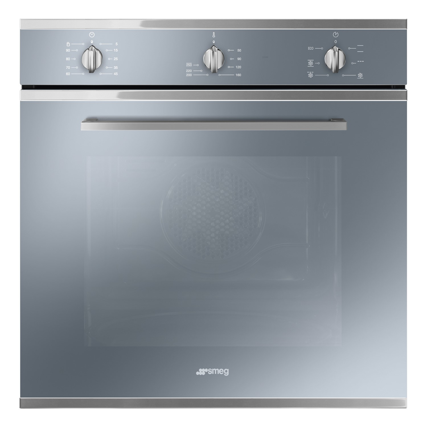 Smeg SF64M3VS Cucina Multifuction Single Oven - Silver