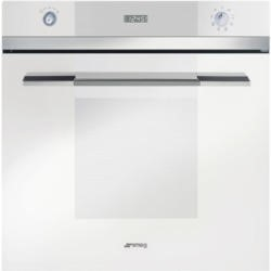 Smeg SFP109B Linea Pyrolytic Multifunction Maxi Plus Electric Built-in Single Oven - White