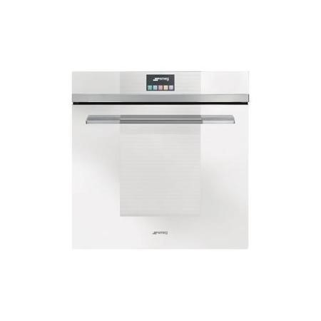 Smeg SFP140BE Linea Pyrolytic Multifunction Electric Built-in Single Oven With Touch Control White