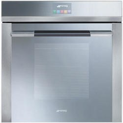 Smeg SFP140E Linea Pyrolytic Multifunction Electric Built-in Single Oven With Touch Controls Stainless Steel