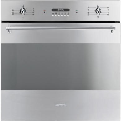 77257834/1/SFP372X GRADE A1 - As new but box opened - Smeg SFP372X Electric Single Oven with Pyrolytic Self Clean Function