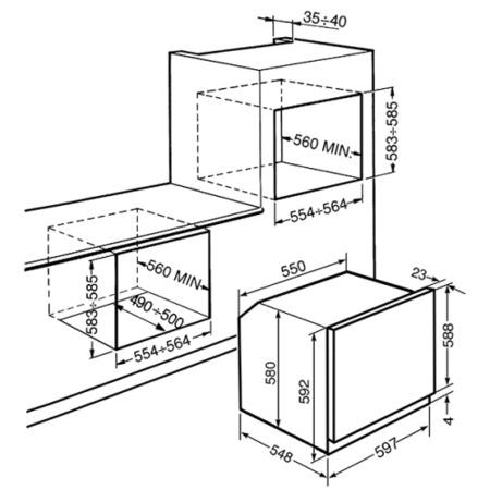 Smeg SFP390X-1 Classic Multifunction Maxi Plus Stainless