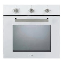 CDA SG120WH White Single Fanned Gas Oven