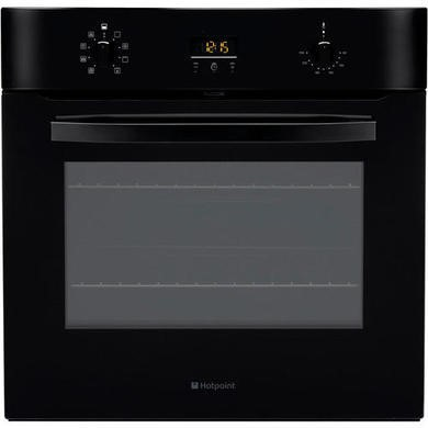 SH83CKS Hotpoint SH83CKS Style 09 Electric Built-in Single Oven Black