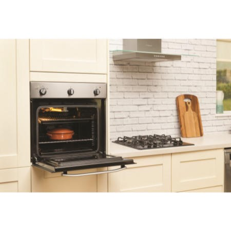 Hotpoint SHY23X Style Gas Built-in Single Oven - Stainless Steel