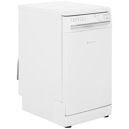 Hotpoint SIAL11010P 10 Place Freestanding Slimline Dishwasher - White