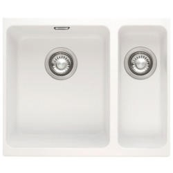 Franke SID 160 Sirius 1.5 Bowl Undermount Tectonite Composite Sink Polar White