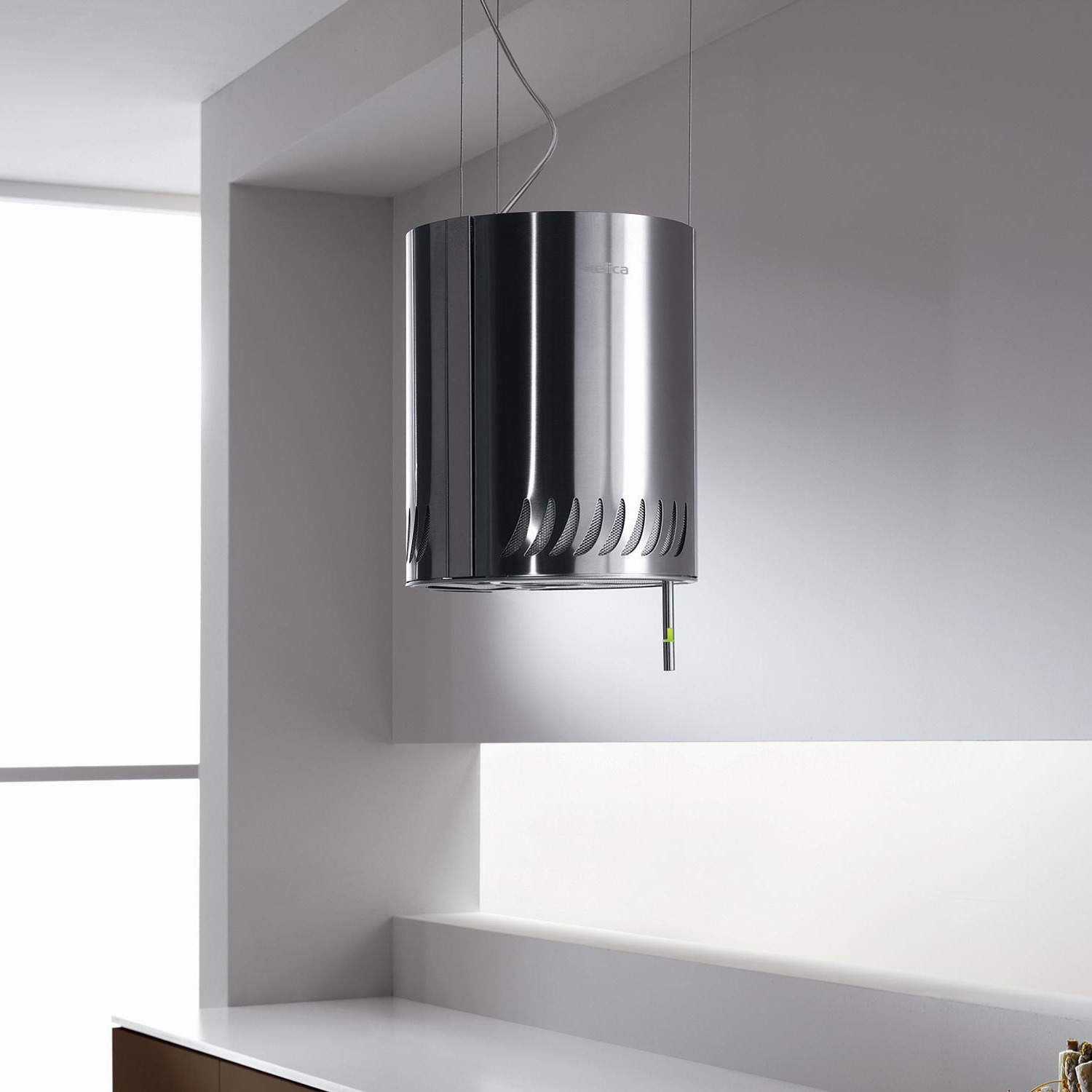 Elicia Cooker Hoods Elica Sienna Ceiling Mounted 248Mm Island Cooker Hood Stainless .