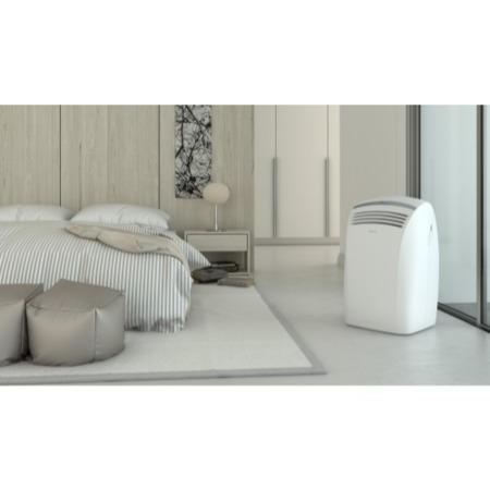 GRADE A3 - Heavy cosmetic damage - Olimpia Splendid SILENT 10000 BTU Ultra Quiet Portable Air Conditioner for rooms up to 28 sqm