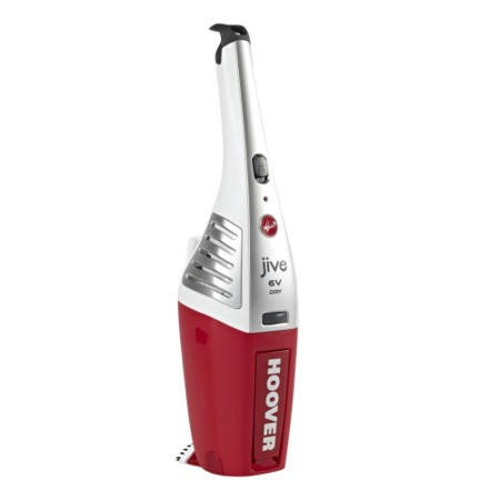 Hoover SJ60DWB6 Handy Plus 6V Handheld Vacuum Cleaner Red And White