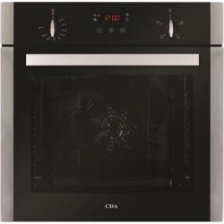 CDA SK210SS Four Function Electric Single Oven Stainless Steel With Touch Control Programmer