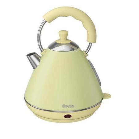 Swan Sk261030gn 2 Ltr Pyramid Green Kettle Appliances Direct