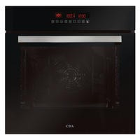 CDA SK510BL Eleven Function Electric Single Oven Black With Pyrolytic Cleaning