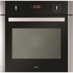 CDA SK650SS 10 Function Electric Built-in Single Oven With Pyrolytic Cleaning - Stainless Steel