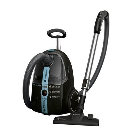 Hotpoint SLD10BAB Anti Allergy Bagless Vacuum Cleaner Black And Blue