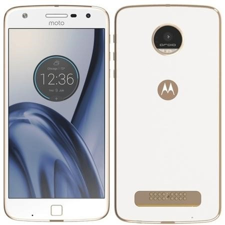 "Motorola Moto Z Play White 5.5"" 32GB 4G Unlocked & SIM Free"