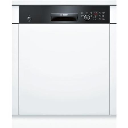 Bosch Serie 4 Active Water SMI50C16GB 12 Place Semi Integrated Dishwasher - Black Control Panel