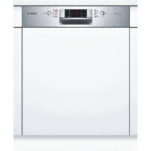 BOSCH SMI65P15GB 13 Place Semi-integrated Dishwasher With Stainless Steel Panel