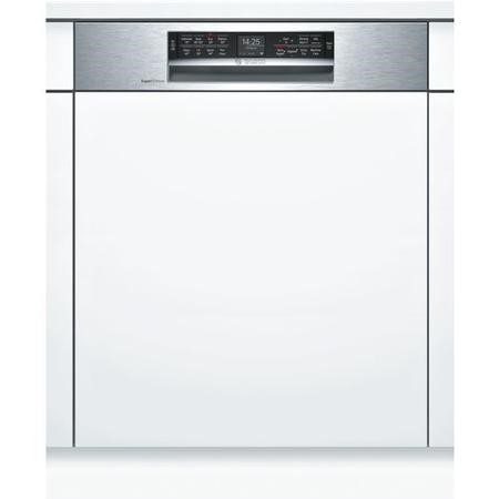 Bosch Serie 6 Home Connect SMI68MS06G 14 Place Semi Integrated SMART Dishwasher - Stainless Steel