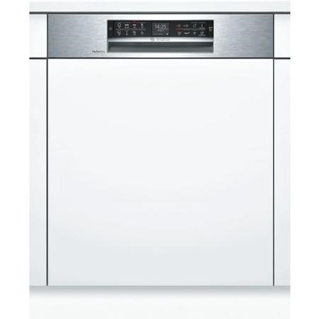 Bosch Serie 6 Home Connect SMI68TS06E 14 Place Semi Integrated SMART Dishwasher - Stainless Steel
