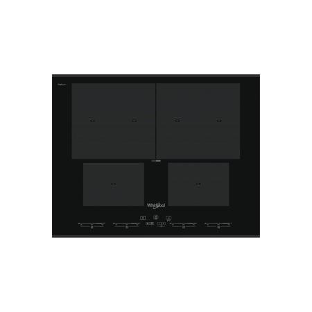 Whirlpool SMO654OFBTIXL SmartCook Touch Control 65cm Four Zone Induction Hob - Black