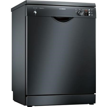 Bosch Serie 2 Active Water SMS25AB00G 12 Place Freestanding Dishwasher - Black