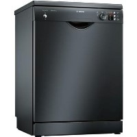 Bosch Serie 2 Active Water SMS25AB00G 12 Place Freestanding Dishwasher - Black Best Price, Cheapest Prices