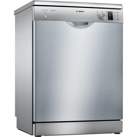 GRADE A1 - Bosch SMS25AI00G 12 Place Freestanding Dishwasher in silver inox