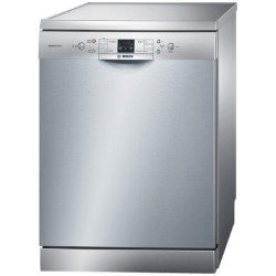 bosch sms40a08gb classixx freestanding dishwasher silver appliances direct. Black Bedroom Furniture Sets. Home Design Ideas