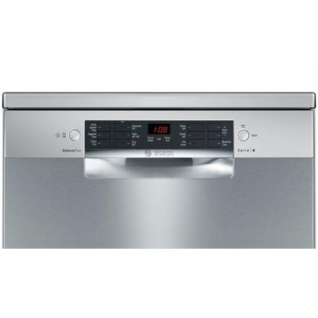 Bosch Serie 4 Active Water SMS46II00G 13 Place Freestanding Dishwasher - Silver