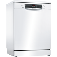 Bosch Serie 4 Freestanding Dishwasher - White Best Price, Cheapest Prices