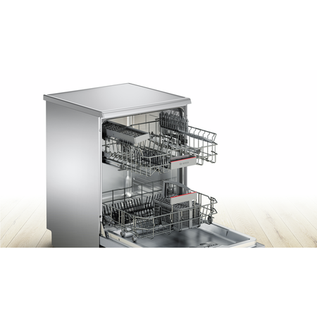 Bosch Serie 4 ActiveWater SMS46IW09G 13 Place Freestanding Dishwasher - White