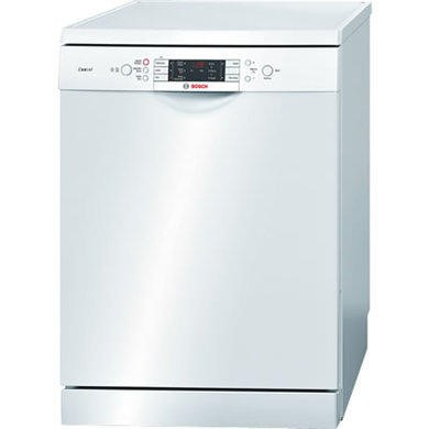 Bosch SMS53E22GB Exxcel 13 Place Freestanding Dishwasher in White