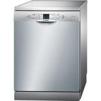 Bosch SMS53M08UK 13 Place Freestanding Dishwasher in silver inox