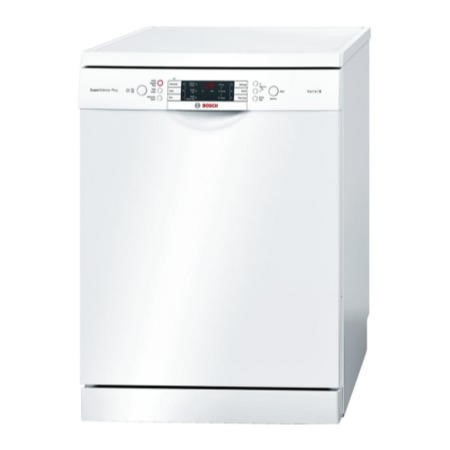 Bosch SMS69M12GB 14 Place Freestanding Dishwasher White