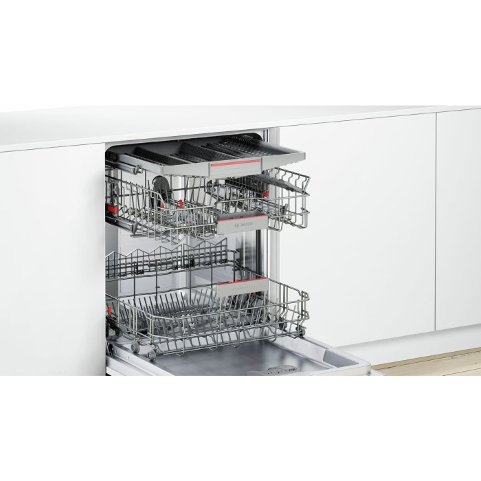 bosch smv68md02g super silence fully integrated 13 place dishwasher appliances direct. Black Bedroom Furniture Sets. Home Design Ideas