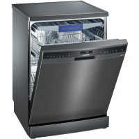 Siemens SN258B00ME Super Efficient 14 Place Full Size Dishwasher With varioDrawer - Black Steel Best Price, Cheapest Prices