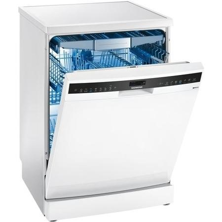 Siemens iQ500 SN258W06TG 14 Place Freestanding Dishwasher - White