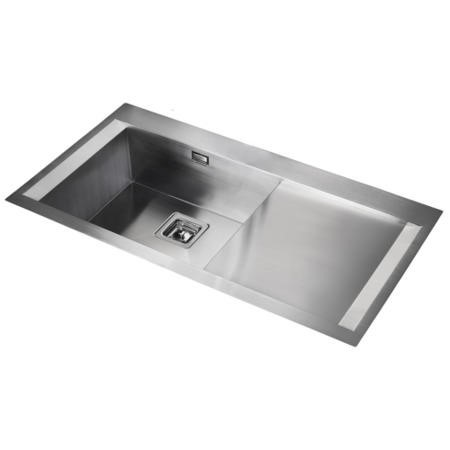 Rangemaster SN9951R Senator 990x525 1.0 Bowl Right Hand Drainer Stainless Steel Sink