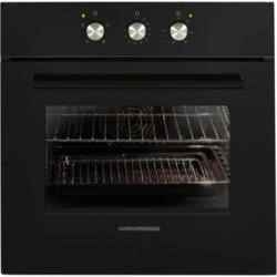 NordMende SO203BL Black Single Fan Oven With Grill And Mechanical Timer
