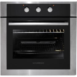 NordMende SO203IX Stainless Steel Single Fan Oven With Grill And Mechanical Timer