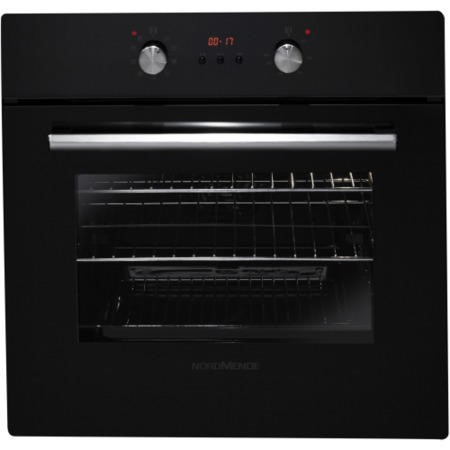 NordMende SO313BL Black Single Multifunction Oven with Catalytic Liners And LED Timer