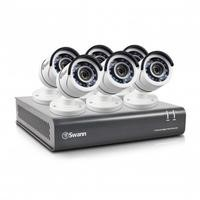 Swann DVR8-4550 8 Channel HD 1080p Digital Video Recorder with 6 x PRO-T853 Cameras & 2TB Hard Drive