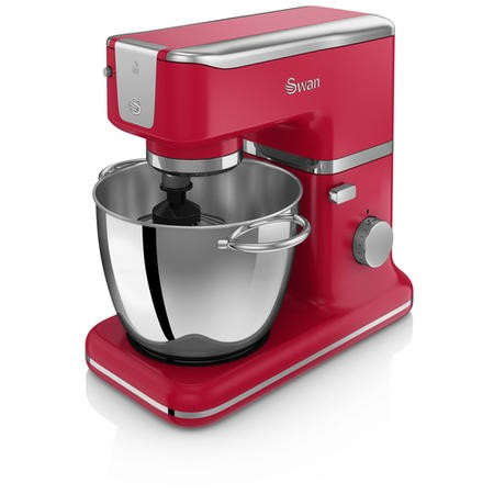 Swan SP21010RN Retro 1000W Stand Mixer Red